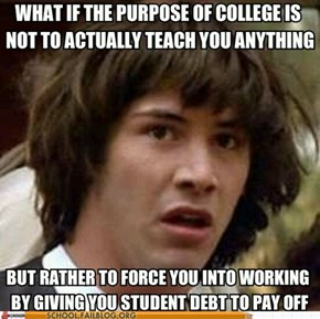 The College Conspiracy