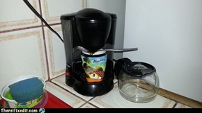 DIY Coffee Pot Repair