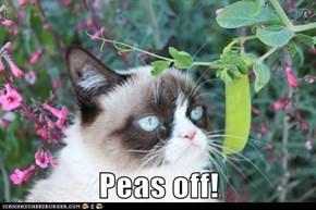 Peas Off!