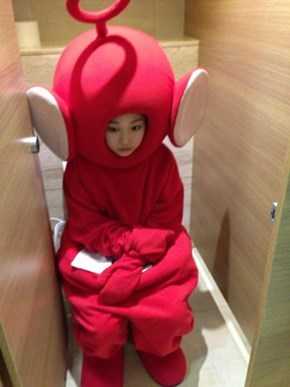 Teletubby Toilet Time