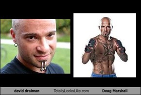 David Draiman Totally Looks Like Doug Marshall