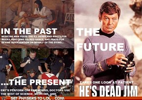 The Past, Present, and Future of Medicine