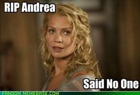 RIP Andrea