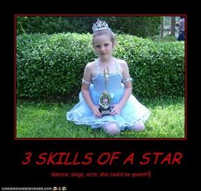 3 SKILLS OF A STAR