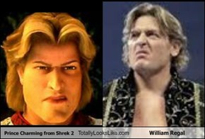 Prince Charming from Shrek 2 Totally Looks Like William Regal