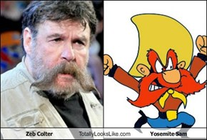 Zeb Colter Totally Looks Like Yosemite Sam