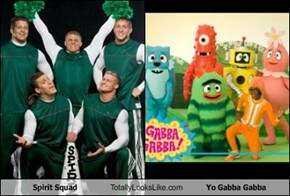 Spirit Squad Totally Looks Like Yo Gabba Gabba