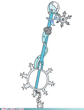 Snowdrop Keyblade: Winterbliss