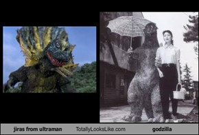jiras from ultraman Totally Looks Like godzilla