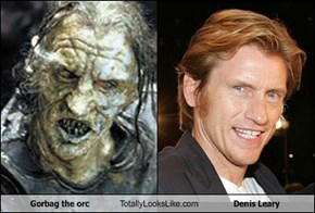 Gorbag the orc Totally Looks Like Denis Leary