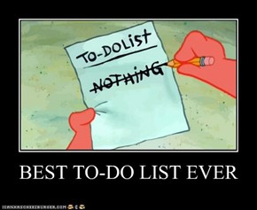 BEST TO-DO LIST EVER
