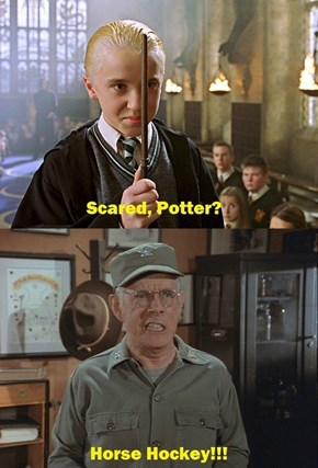 Scared, Potter?