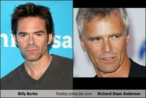 Billy Burke Totally Looks Like Richard Dean Anderson