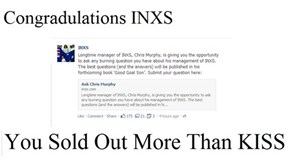 INXS lives up to their name