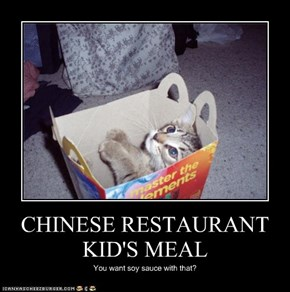 CHINESE RESTAURANT KID'S MEAL