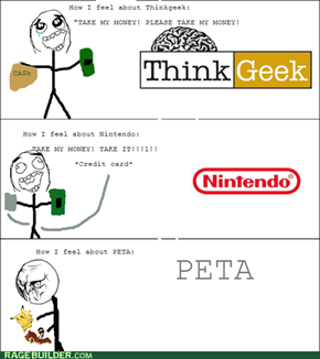 Stay away from Nintendo PETA!