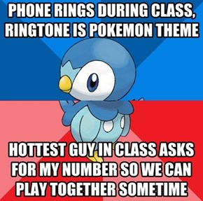 Socially Awkward Awesome Piplup
