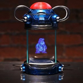 Mega Man Light Capsule Hologram Replica