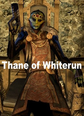 Thane Was in Skyrim?