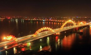 Vietnam's Stunning Dragon Bridge