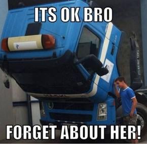 Poor Optimus is Heartbroken