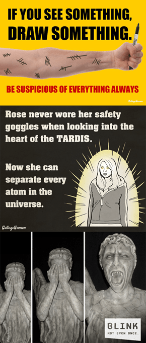 Check Out College Humor's Doctor Who PSAs