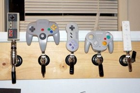 So Does the Beer Come Out in Pixels?