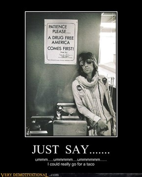 JUST  SAY.......