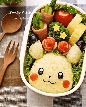 Would You Eat a Pikachu Charaben?