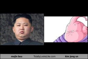 majin buu Totally Looks Like kim jong un