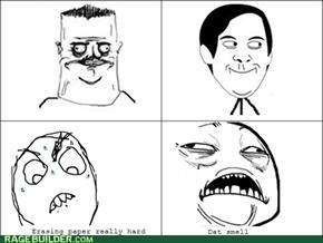 eraser smell