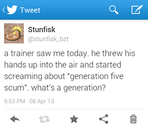 Pokemon Don't See Generations