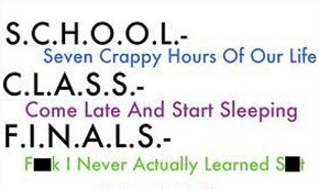 School in Acronyms