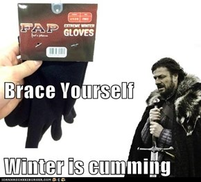 Brace Yourself Winter is cumming