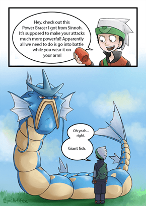 Gyarados Can Just Wear it on His Tongue