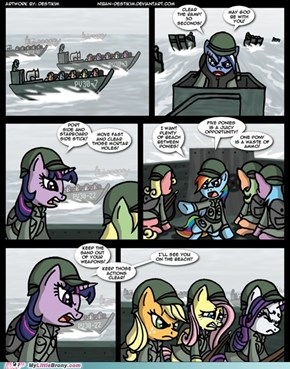 RP Thread: War in Equestria