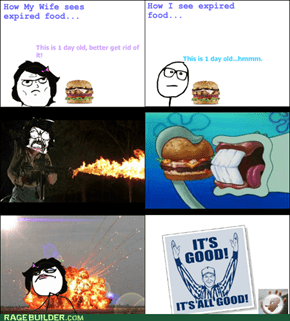 Expired Food Rage