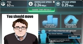 Adam Orth Speed Test