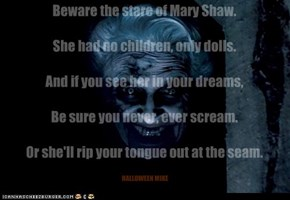 The Mary Shaw poem.