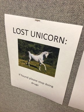 Best Cubicle Sign Ever