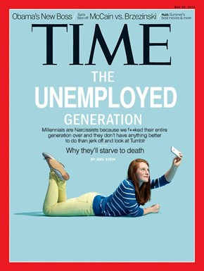 Time Attempts to Rebuke a Generation of Millennials, Millennials Sass Time Right Back