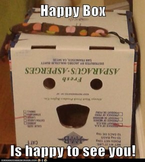 Happy Box  Is happy to see you!