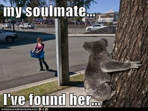 my soulmate...  I've found her...