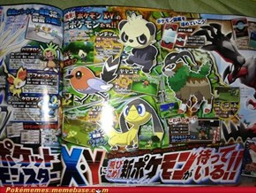New Pokemon and features for X and Y!