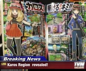 Breaking News - Karos Region  revealed!
