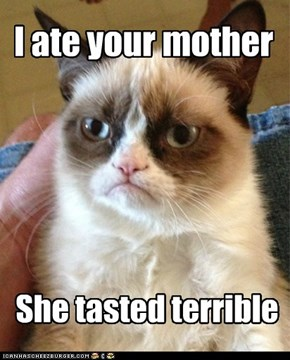 Happy Mother's Day From Grumpy Cat!