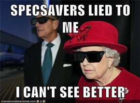 SPECSAVERS LIED TO ME  I CAN'T SEE BETTER
