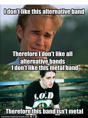 Bands You Don't Like