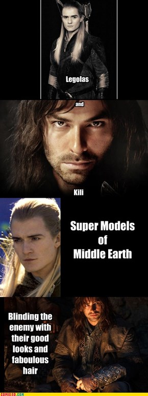 Super Models of Middle Earth