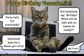 Happy Birthday Venusdemilo!!